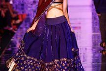 Manish Malhotra lehengas / Manish Malholtra is one of the foremost Indian designers. Fresh, designer looks perfect for any Indian bride.