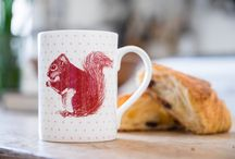 ANIMAL GIFTS & HOMEWARE / Britain's iconic animals in the form of illustrative, bold and beautiful home and giftware!