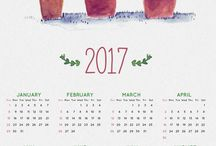 calendars 2k17