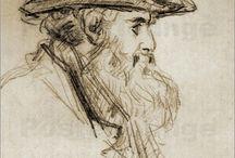 Cezanne portreit of Pissarro