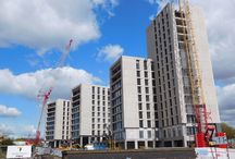 Birmingham East Side / PCE Ltd were approached by main contractor John Sisk to complete the Birmingham East Side Locks student accommodation development, following the administration of the original specialist frame contractor.