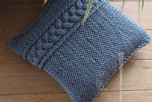 cushion pillow knit