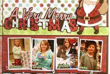 Scrapbook Layouts: Christmas