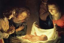 Life of Christ -- Nativity and Youth / by Tom Bovard
