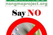 Eat Clean. No GMO's !!! / SCREW YOU Monsanto!