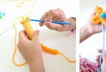 Loom/Spool/Finger Knitting