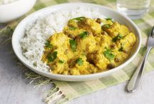 National Curry Week / To celebrate National Curry Week we've put together some tasty, and gluten free, recipes for inspiration. A lot of classic Indian recipes are naturally gluten free due to the use of chickpea flour. Always check the labels and ingredients list if unsure.