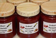 verschiedene Marmelade