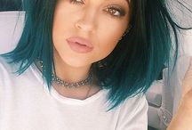 Turquoise hair!