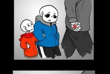 Sans, Papyrus and Gaster
