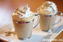 Kaffe og drikke