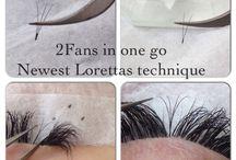Professional Beauty / Lash lift, lash extensions, tinting etc