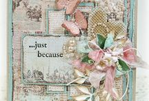 Cards - Shabby Chic / by Monica T. Mueller