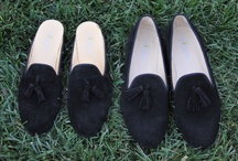 Velvet Slippers JPC Collection / by JP Crickets University and Collection Loafers