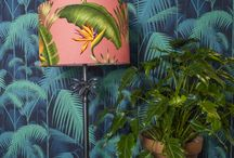 Tropical Lights and Lampshades