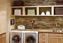 LAUNDRY ROOMS / by Halee Tharin Nolte