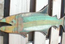Wooden Fish Collection / Cute