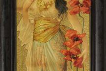 Kobieta / obrazy, malarze
