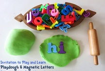 Playdough Learning for Kids / Playdough recipes, ideas, and educational learning
