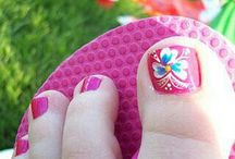 Tippy TOES! ❤️ / Purdy Pedi's / by LaDonna Parker-Clark