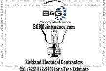 Kirkland Electrical Contractors | B&G Electrical Contracting / Looking for an electrical contractor in Kirkland, Washington? B&G Electrical Contracting are electrical contractors of Kirkland that offers the best electrical solutions for homes or commercial establishments. Call (425) 822-9487 for a quote or for a free estimate in your electrical service needs.