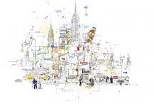 Cityscape Art