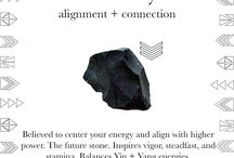Black Onyx / Alignment + Connection + Strength