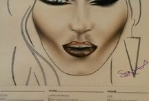Face chart / Urban Decay