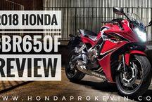 2018 Honda CBR650F Review / Specs | CBR Sport Bike / Motorcycle / 2018 Honda CBR 650 Sport Bike / Motorycle Review & Specs at www.HondaProKevin.com | Horsepower & Torque Performance Info, Price + More!