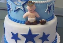 Dallas Cowboys Baby Shower / Susan's August 2014 Cowboys Themed Shower / by Stephanie Coello