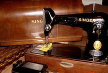 Vintage Sewing Machines / by WeSewRetro