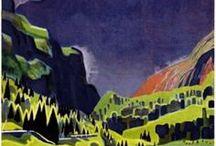 Vintage Alps Art