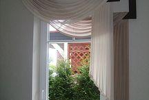 firany i okno