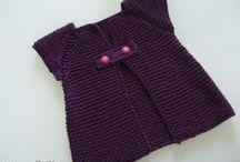 gilet violet