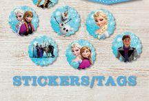 Frozen en andere Disney/Pixar characters