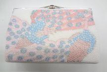 Vintage Beaded Bag made in Japan