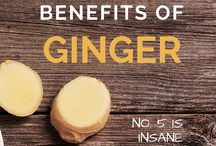 Benefits of Ginger / A look at the healthy benefits of ginger.