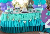 Sea and mermaid party ideas