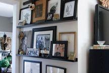 Home Interior Boho DIY Black Gold