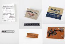 Label, Packaging e Accessories / Articoli riguardanti la nostra produzione di etichette, cartellini e accessori per abbigliamento, arredamento ecc..