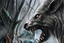 lobos y zombies