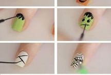 Halloween Nail Art Design Tutorials