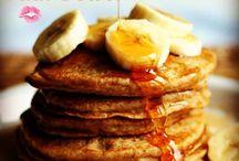 Ontbijt / Banaan-ei pannekoek