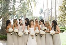 Neutral Weddings / Beige, brown, grey, white! Neutral colors can make any wedding look soft, delicate, and natural.