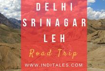 Delhi-Srinagar-Leh Road Trip - Adventure Travel / Adventure Road trip from Delhi to Leh Ladakh in the Himalayas. Travel tales of the journey. Explore the route for your adventure travel