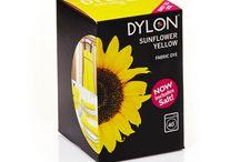 yçiçeği Sarı - Sunflower Yellow -Fabric Dye With Salt-Giysi Boyası