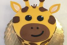 Giraffe Cakes