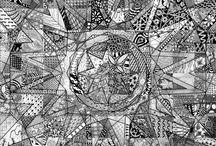 art - zen doodle mandalas