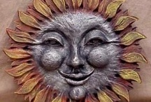 Smiling Sun & Man in the Moon / by Laura Denney-Lawson