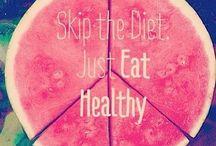 Healthy foods/ diet